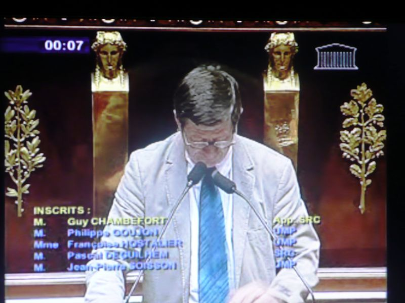 2 07 09 Guy Chambefort loi sur la gendarmerie