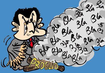 Sarkozy bla bla