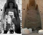 Grand bouddha de bamiyan avant et après destruction