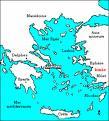 Carte de la Grèce