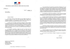 Réponse Le Maire