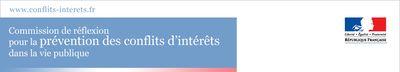 Logo conflit d'intérêts