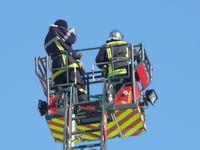 Au ciel avec les pompiers !