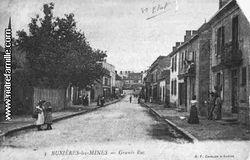 Cartes-postales-photos-Grande-Rue-BUXIERES-LES-MINES