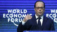 Hollande davos